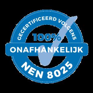 NEN8025 normering